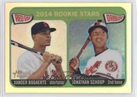 2014 Rookie Stars (Xander Bogaerts, Jonathan Schoop) /565