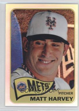 2014 Topps Heritage Chrome Refractor #THC-490 - Matt Harvey /565