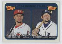 2014 Rookie Stars (Billy Hamilton, Nick Castellanos) /999