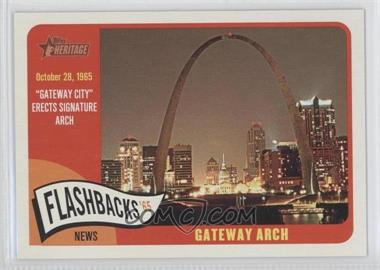 2014 Topps Heritage News Flashbacks #NF-GA - Gateway Arch