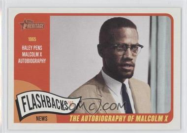 2014 Topps Heritage News Flashbacks #NF-MX - Malcolm X