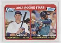 2014 Rookie Stars (Logan Watkins, Abraham Almonte)