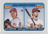 2014 Rookie Stars (Nick Christiani, Tuffy Gosewisch)