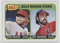 2014 Rookie Stars (Buddy Boshers, Matt Shoemaker)