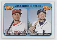 2014 Rookie Stars (Billy Hamilton, Nick Castellanos)
