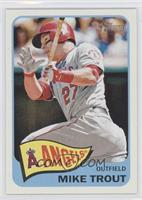 Mike Trout (Action Image Variation)