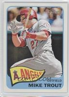 Mike Trout Action Image Variation
