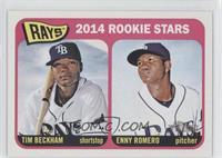 2014 Rookie Stars (Tim Beckham, Enny Romero)