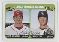 2014 Rookie Stars (David Holmberg, Chad Bettis)