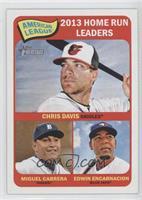 American League 2013 Home Run Leaders (Chris Davis, Miguel Cabrera, Edwin Encar…
