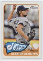 Clayton Kershaw (Action Image Variation)