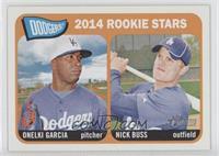 2014 Rookie Stars (Onelki Garcia, Nick Buss)