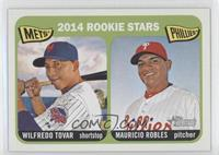 2014 Rookie Stars (Wilfredo Tovar, Mauricio Robles)
