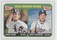 2014 Rookie Stars (Daniel Webb, Chris Robinson)