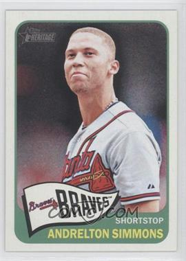 2014 Topps Heritage #435 - Andrelton Simmons
