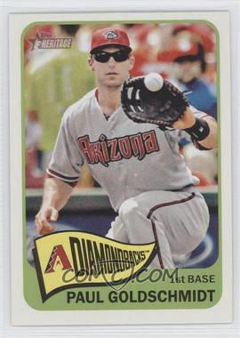 2014 Topps Heritage #463.2 - Paul Goldschmidt (Action Image Variation)