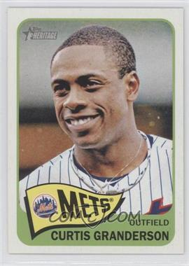 2014 Topps Heritage #497 - Curtis Granderson