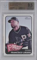 Francisco Liriano (Name in White) [BGS 9.5]