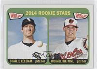2014 Rookie Stars (Charlie Leesman, Michael Belfiore)