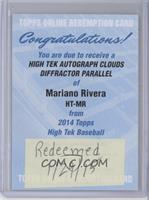 Mariano Rivera /25 [REDEMPTION Being Redeemed]