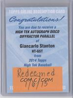 Giancarlo Stanton /50 [REDEMPTION Being Redeemed]