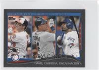 AL Home Run Leaders (Chris Davis, Miguel Cabrera, Edwin Encarnacion) /5
