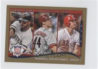 NL Home Run Leaders (Pedro Alvarez, Miguel Gonzalez, Paul Goldschmidt) /63