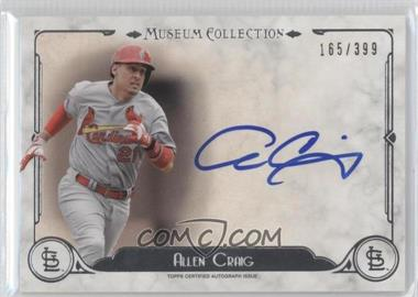 2014 Topps Museum Collection - Archival Autographs #AA-ACR - Allen Craig /399