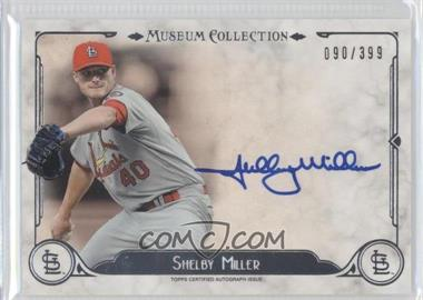 2014 Topps Museum Collection - Archival Autographs #AA-SM1 - Shelby Miller /399