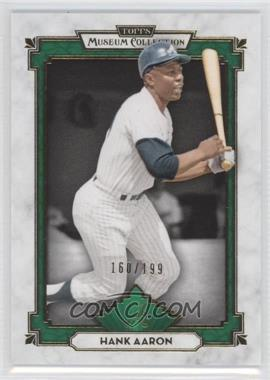 2014 Topps Museum Collection - [Base] - Green #80 - Hank Aaron /199