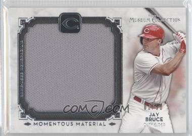2014 Topps Museum Collection - Momentous Material Jumbo Relics #MMJR-JBR - Jay Bruce /50
