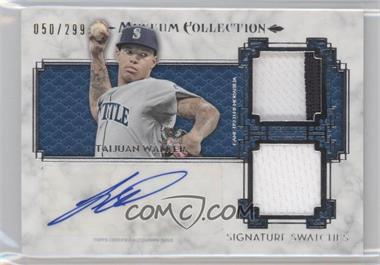 2014 Topps Museum Collection - Single-Player Signature Swatches Dual #SSD-TW - Taijuan Walker /299