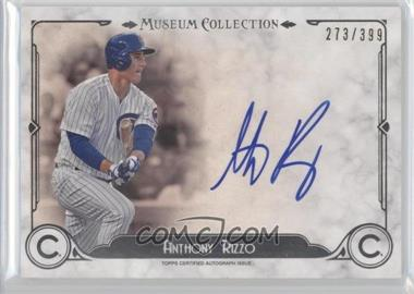 2014 Topps Museum Collection Archival Autographs #AA-AR - Anthony Rizzo /399