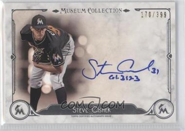 2014 Topps Museum Collection Archival Autographs #AA-SCI - Steve Cishek /399