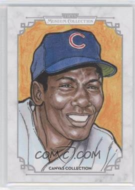 2014 Topps Museum Collection Canvas Collection #CCR-20 - Ernie Banks