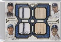 Andy Pettitte, Derek Jeter, Mariano Rivera, Don Mattingly /25