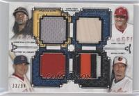 Andrew McCutchen, Mike Trout, Jacoby Ellsbury, Adam Jones /99