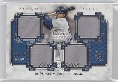 2014 Topps Museum Collection Single-Player Primary Pieces Quad Relics #PPQR-PF - Prince Fielder /99