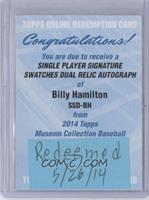 Billy Hamilton [REDEMPTIONBeingRedeemed]