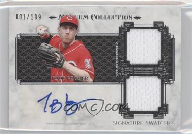 2014 Topps Museum Collection Single-Player Signature Swatches Dual #SSD-TF - Todd Frazier /199
