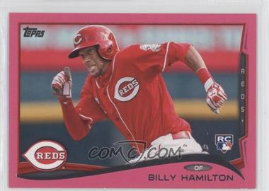 2014 Topps Pink #36 - Billy Hamilton /50
