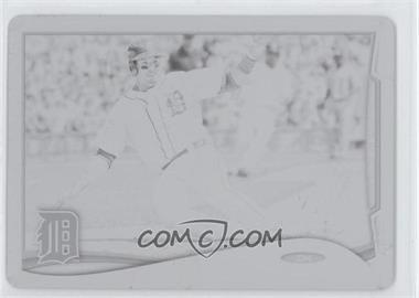 2014 Topps Printing Plate Black #31 - Victor Martinez /1