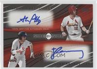 Stephen Piscotty, James Ramsey /20