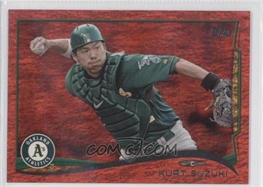 2014 Topps Red Hot Foil #104 - Kurt Suzuki