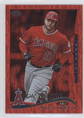 2014 Topps Red Hot Foil #154 - Chris Iannetta