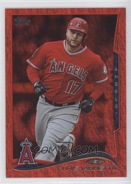 2014 Topps Red Hot Foil #154 - Chris Iannetta