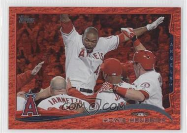 2014 Topps Red Hot Foil #185 - Howie Kendrick