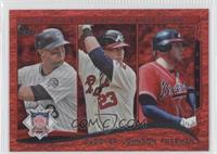 NL Batting Average Leaders (Michael Cuddyer, Chris Johnson, Freddie Freeman)