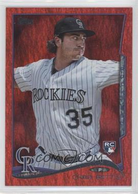 2014 Topps Red Hot Foil #290 - Chad Bettis