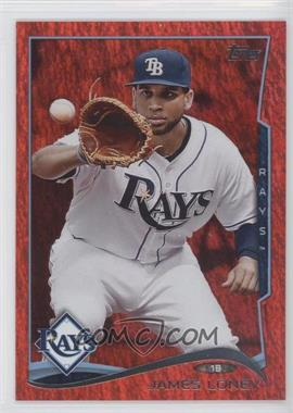 2014 Topps Red Hot Foil #328 - James Loney